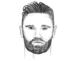 the perfect men s hairstyle haircut for a round face shape