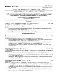 Advertising Resume Templates Best College Student Internship Resume Formats For Students Awesome