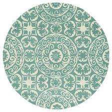 evolution mint 10 ft x 10 ft round area rug