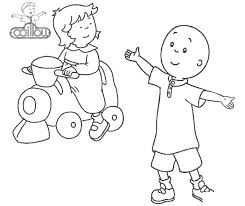 Caillou Coloring Pages Coloring Pages Play With Bigfashioninfo