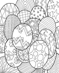 Easter Colouring Pages Adults Printable Coloring Page For Kids