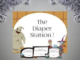 nightmare before christmas baby diaper raffle tickets and sign diy nightmare before christmas baby diaper raffle tickets and sign diy printable baby shower