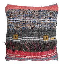 rag rug pillow case 1