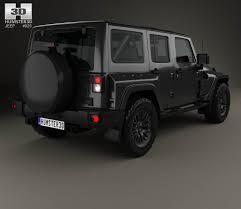 jeep wrangler project kahn jc300 chelsea black hawk 4 door 2018 3d model