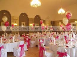 Decorating With Balloons Wedding Balloons Fresh Silk Flowers Pew End Bows Chair Cover