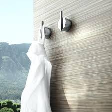 Modern towel hook Wood Modern Towel Hooks Modern Towel Hook Duo Wall Hook Screw On From Modern Towel Bars And Modern Towel Hooks 088zco Modern Towel Hooks Bathroom Towel Hooks Bathrooms Design Bathroom