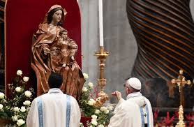 Pope declares new feast day devoted to the Virgin Mary | Pope in PH 2015 - An INQUIRER.net Special