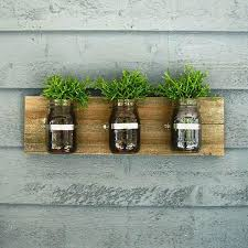wall hanging planter mason jar wall hanging planter organizer decor wall mounted wooden planter boxes