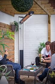 vertical or horizontal outdoor heater