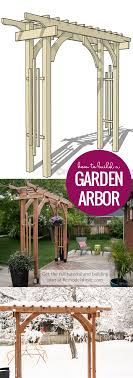 Small Picture Remodelaholic 2x4 and More How to Build a Garden Arbor Using