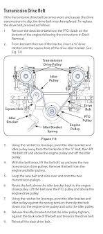 troy bilt bronco drive belt diagram deck introduction to electrical troy