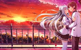 1 photo gallery of anime couple backgrounds. Romantic Anime Wallpapers Top Free Romantic Anime Backgrounds Wallpaperaccess