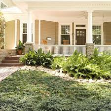 Front Yard Without Grass  Home Design And Decor Reviews  Yard Lawn Free Backyard