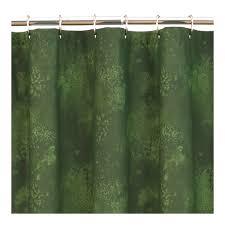 green shower curtains uk