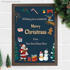 Online Christmas Messages Make Personal Merry Christmas Wishes Cards Online Free