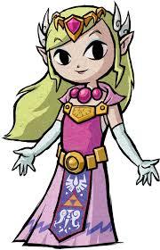 Coloriage Princesse Zelda Imprimer
