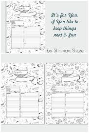 recipe templates fun printable recipe planner happy planner recipe pages a4 pdf blank