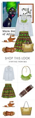 Out Of Africa. by glamorous09 liked on Polyvore featuring.