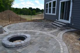 fine pit paver fire pit patio on stone fire pit ideas t