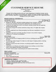Skills Section For Resumes Skills Resume Section Magdalene Project Org