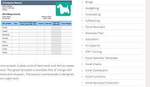 Dog Receipt Dog Boarding Receipt Template 8 Pet Sitting Invoice Exceltemplates