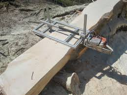 picture of chainsaw mill build use tips n tricks
