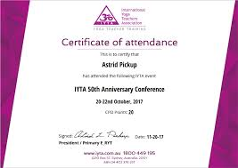 Conference Attendance Certificate Samples New Template International