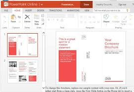 powerpoint brochure template free medical brochure template for powerpoint online