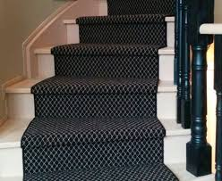 black and white wool carpet stair runners on spiral staircase in toronto ideas wool carpet