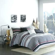 rugby stripe bedding rugby stripe bedding black red grey rugby stripes comforter full queen cool gray rugby stripe bedding