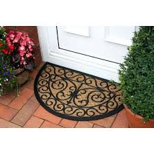 half circle door mats large half circle outdoor rugs rug designs