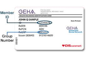 Sample Id Card | Geha