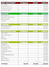 Free Printable Expense Sheets Budget Sheet Template Free