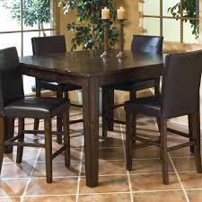 cool pub table with leaf solid mango gathering table with erfly leaf round pub table with