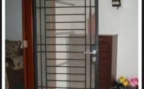 10 contoh pilihan untuk pintu teralis besi minimalis dan klasik terbaru. 10 Contoh Pilihan Pintu Teralis Besi Minimalis Dan Klasik Cute766