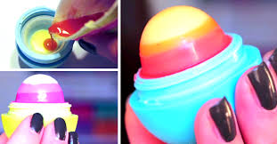 get shiny and delicious lips with this easy diy ombre eos lip balm cute diy projects