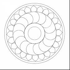 Small Picture stunning simple mandala coloring pages with easy mandala coloring
