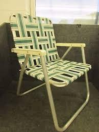 folding web lawn chairs.  Lawn Image Is Loading RETROALUMINUMFOLDINGWEBBEDLAWNCHAIRPLASTICARMS In Folding Web Lawn Chairs I