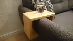 picture of sofa arm table