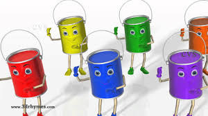 Color Songs - 3D Animation Learning Colors Nursery Rhymes for children -  YouTube