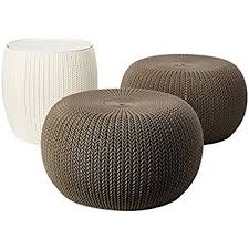Outdoor Poufs And Ottomans