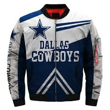 Hot Sale Nfl Football Mens Bomber Jacket Dallas Cowboys