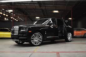 The First Rolls Royce Cullinan On Custom Forgiato Wheels