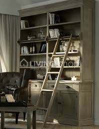 stair bookcase furniture. Country Style Bookcase With Ladder Stair Furniture