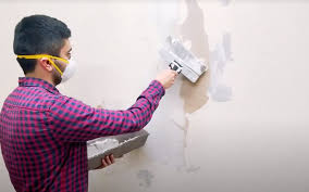 how to repair drywall after removing