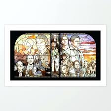 glass art prints supernatural stained glass art print sea glass art prints