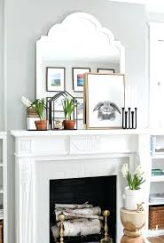 creative fireplace ideas medium size of living fireplace mantels fireplace decor ideas above chimney decorations painted