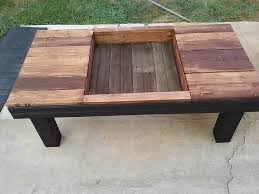 charming pallet furniture coffee table