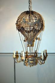 hot air balloon chandelier chandeliers and throughout designs 7