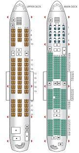 Emirates A380 Seat Map Upper Deck Economy Best Description